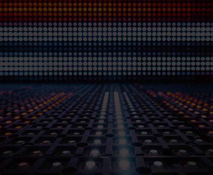 Egyszínű fényreklámok