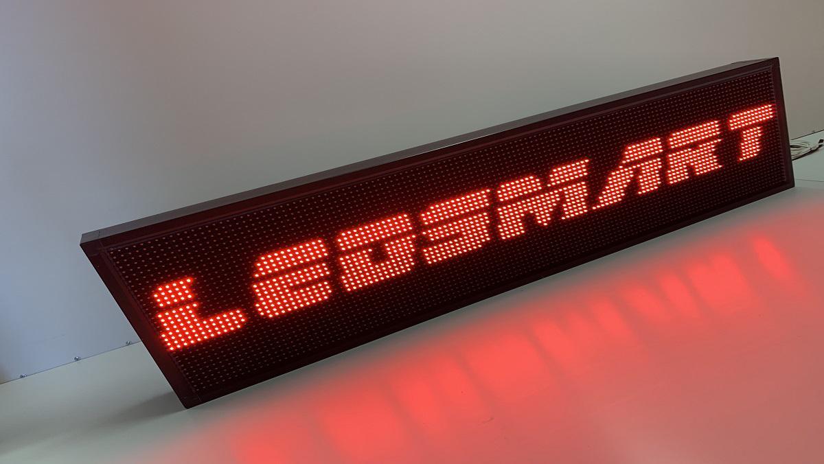 Piros fényreklám - 32 cm magasság